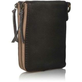 ディバイス(device.)の[デバイス] 二つ折り財布  ヴィンテージ  ダブルジップ ダークブラウン(折り財布)