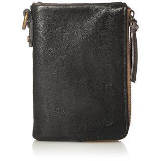 ディバイス(device.)の [デバイス] 二つ折り財布  ヴィンテージ  ダブルジップ ターコイズ(折り財布)