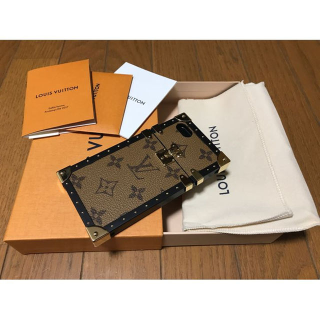 burch iphone7 ケース | LOUIS VUITTON - LOUIS VUITTON iPhone7 eye trunk ケース 新品の通販 by JUICY|ルイヴィトンならラクマ