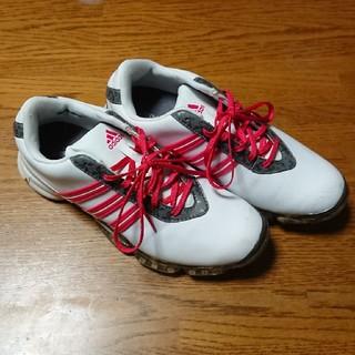アディダス(adidas)の☆送料込☆adidasゴルフシューズ(シューズ)
