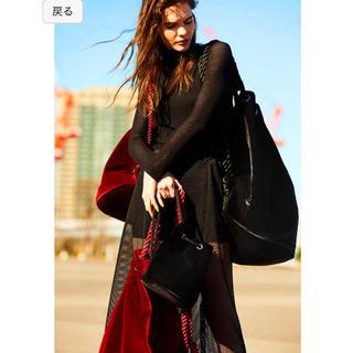 エンフォルド(ENFOLD)の今期完売品 スタイリング styling ベロアバック ブラック(ショルダーバッグ)