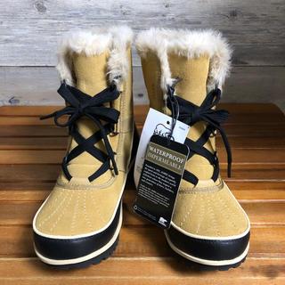 ソレル(SOREL)の試着のみ 超美品 レディース ベージュ ソレル ティボリ23cm soler(ブーツ)