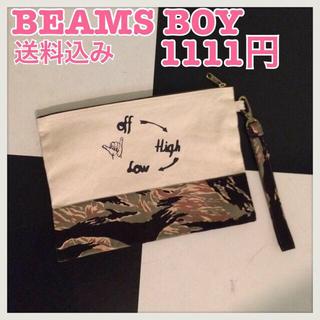 ビームスボーイ(BEAMS BOY)のBEAMS BOY♡クラッチバッグ♡美品(クラッチバッグ)
