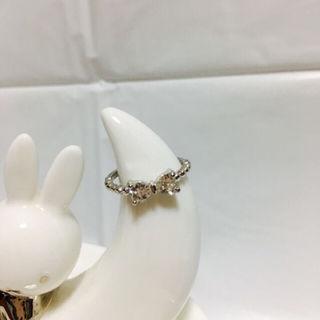 シルバーリボン/ピンキーリング・ファランジリング(リング(指輪))
