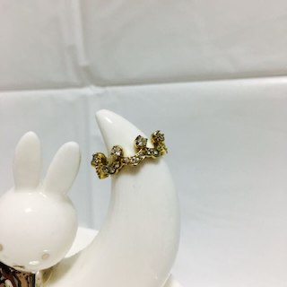ゴールドクラウン(王冠)/ピンキーリング・ファランジリング(リング(指輪))