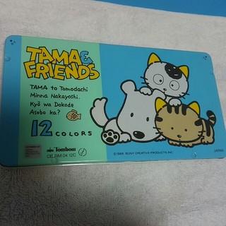 トンボエンピツ(トンボ鉛筆)のウチのタマ知りませんか? 色鉛筆 TAMA&FRIENDS 12色(色鉛筆)