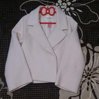 ストロベリーフィールズ(STRAWBERRY-FIELDS)の☆美品 ストロベリーフィールズ コート(ピーコート)