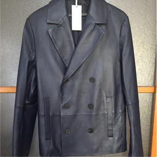 カルバンクライン(Calvin Klein)の【値下げ】Calvin  Klein羊革コート(レザージャケット)