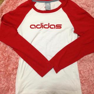 アディダス(adidas)のadidas  ラグランロンT☆(Tシャツ(長袖/七分))