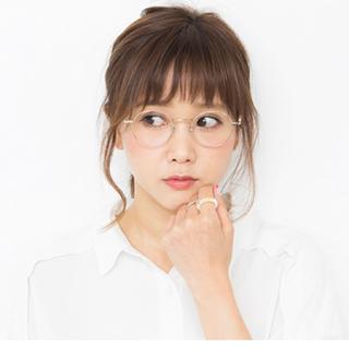 ゾフ(Zoff)の【田中里奈モデル】メガネ(サングラス/メガネ)