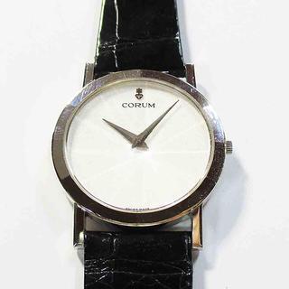 コルム(CORUM)の正規品 コルム K18WG クオーツ時計(腕時計)