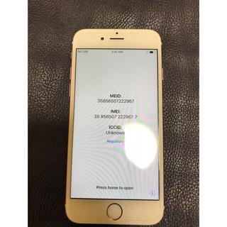 iPhone6s SIMフリー 128GB ローズゴールド