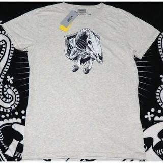 ウィーエスシー(WeSC)の新品 WESC アーティストデザイン ホースボーンズT S ポルトガル製(Tシャツ/カットソー(半袖/袖なし))