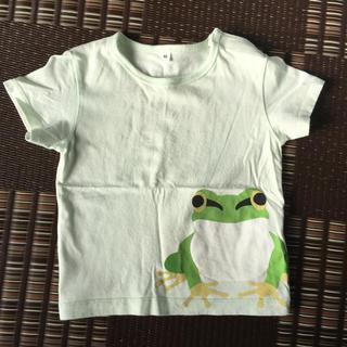 ムジルシリョウヒン(MUJI (無印良品))のカエルTシャツ(Tシャツ/カットソー)