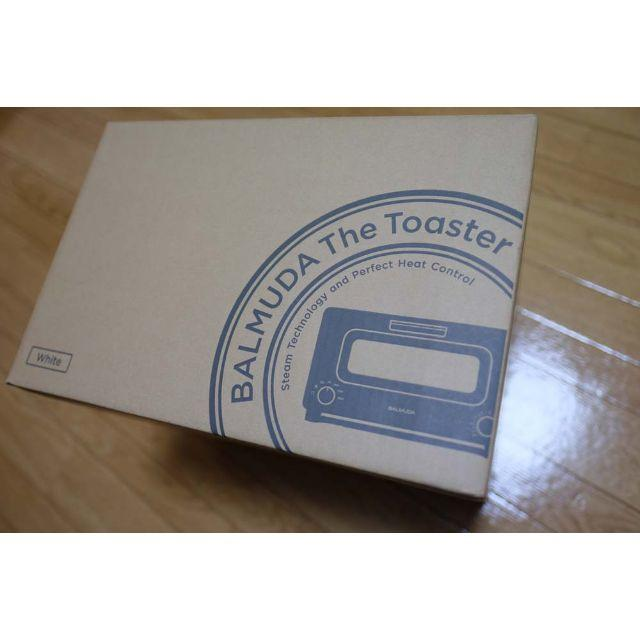 BALMUDA(バルミューダ)のBALMUDA The Toaster K01E  White スマホ/家電/カメラの調理家電(その他)の商品写真