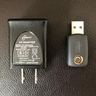 プルームテック(PloomTECH)のプルームテック ACアダプタと充電器(その他)