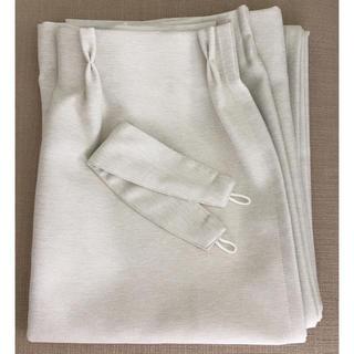 ムジルシリョウヒン(MUJI (無印良品))の無印良品・美品カーテン1枚(カーテン)