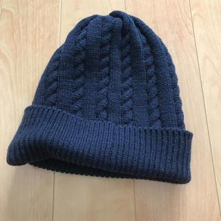 コムサイズム(COMME CA ISM)のコムサ ニット帽  新品(ニット帽/ビーニー)