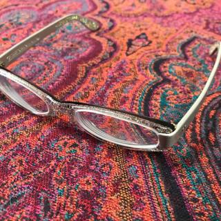 アランミクリ(alanmikli)のもなか様お取り置き★KIRK ORIGINALS グリッター眼鏡★(サングラス/メガネ)