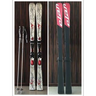 エラン(Elan)のELAN エラン スキー板 エラン ストック スキーケース セット3点セット(板)