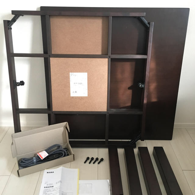 MUJI (無印良品)(ムジルシリョウヒン)の無印良品 コタツテーブル インテリア/住まい/日用品の机/テーブル(こたつ)の商品写真