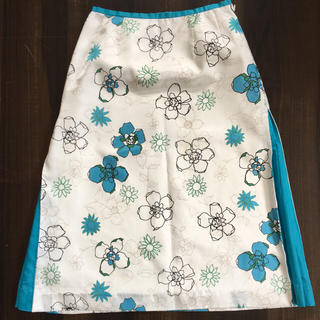 クレデヴェール(cledevers)のクレデヴェール 日本製 フレアスカート (ひざ丈スカート)