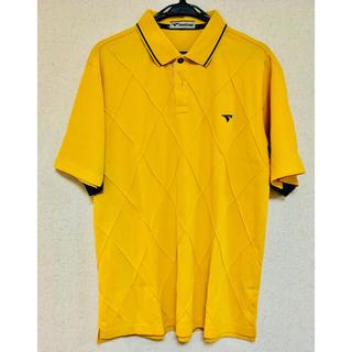 ツアーステージ(TOURSTAGE)のTOURSTAGE ツアーステージ☆ポロシャツ☆ゴルフウェア☆黄色イエロー☆LL(ウエア)
