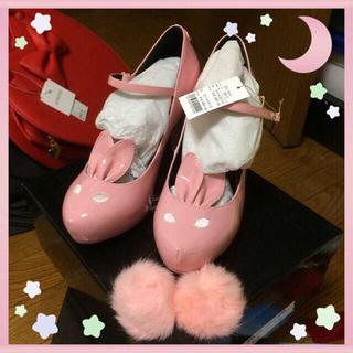 ミルク(MILK)のMILK♡完売予約商品♡今季バニーヒール(ハイヒール/パンプス)
