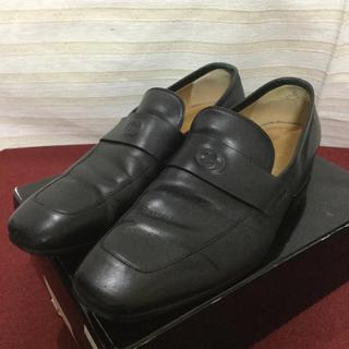 グッチ(Gucci)のGUCCI グッチ GGロゴ ローファー 靴 正規品(スリッポン/モカシン)