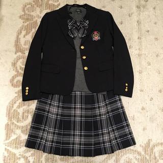 ザスコッチハウス(THE SCOTCH HOUSE)の女児 スコッチハウス 卒服スーツ4点セット 150cm(ドレス/フォーマル)