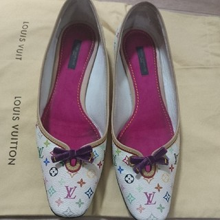 ルイヴィトン(LOUIS VUITTON)のひな10000専用ルイヴィトン マルチカラー靴(スリッポン/モカシン)