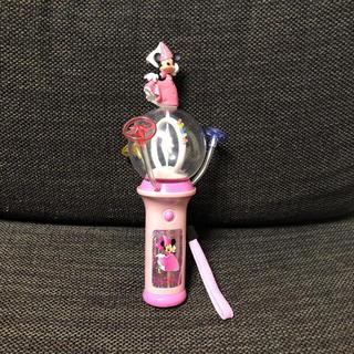 ミニーマウス(ミニーマウス)のディズニー ミニー ピンクの光るおもちゃ ライティングトイ(キャラクターグッズ)