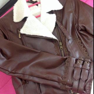 リズリサ(LIZ LISA)のLIS LISA ライダースジャケット(ライダースジャケット)