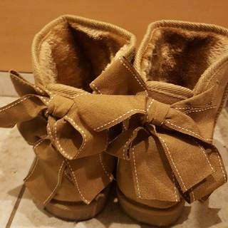 サルース(salus)のリボン付きムートンブーツ(ブーツ)