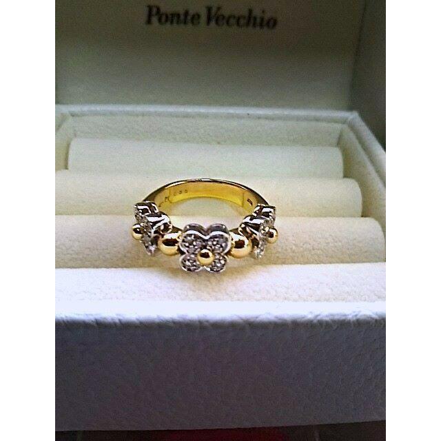 PonteVecchio(ポンテヴェキオ)のPonte Vecchio ポンテヴェキオ ダイヤリング 0.35ct レディースのアクセサリー(リング(指輪))の商品写真