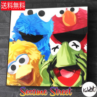セサミストリート(SESAME STREET)の【新品】 セサミストリート ポップアート Famouse アートパネル (キッズ/ファミリー)