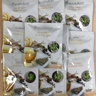 ‼️ レボリューション  シトラススパイス 10袋 賞味期限4月28日‼️(茶)