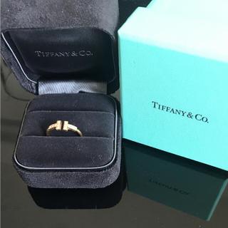 ティファニー(Tiffany & Co.)の値下げ!!Tiffany Tワイヤーリング  ダイヤ(リング(指輪))