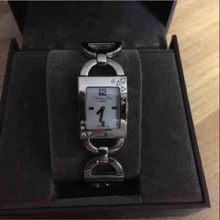 クリスチャンディオール(Christian Dior)のChristian Diorのシェル文字盤のダイヤ入り時計(腕時計)