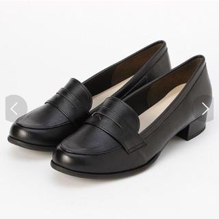 ヴェリココ(velikoko)の[ラクチンきれいシューズ]コインローファー(3cmヒール) ヴェリココ(ローファー/革靴)