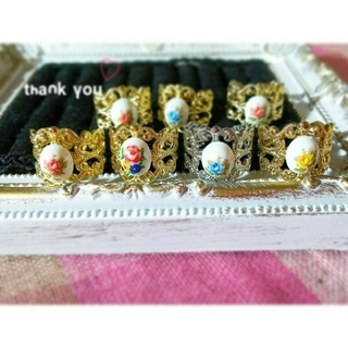 ▷ Thank you ring 💗💗(リング)