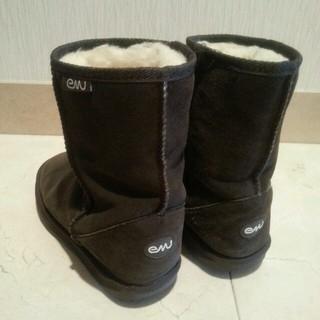 エミュー(EMU)のemuのムートンブーツ(レインブーツ/長靴)