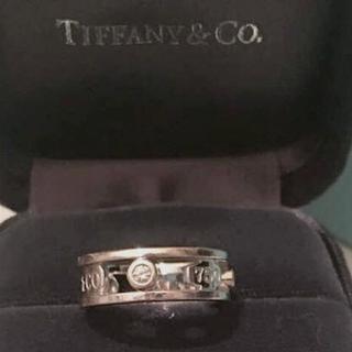 ティファニー(Tiffany & Co.)のお値下げ TIFFANY&Co. 1837 3Pダイヤ エレメントリング K18(リング(指輪))
