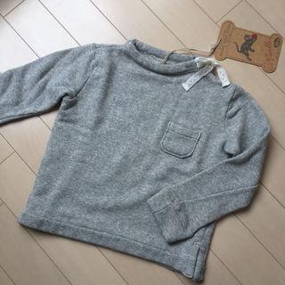 ニードルワークスーン(NEEDLE WORK SOON)のかえるん様専用☺︎新品タグ付き☺︎ニードルワークスーン トレーナー 100(Tシャツ/カットソー)