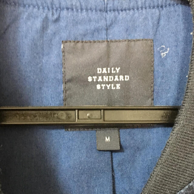 RAGEBLUE(レイジブルー)のレイジブルーデニムMA-1 メンズのジャケット/アウター(ミリタリージャケット)の商品写真