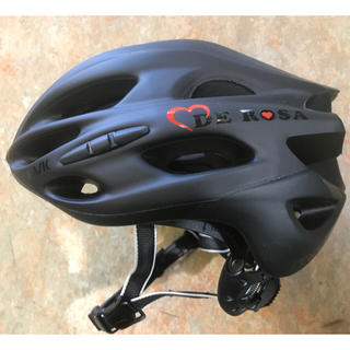 KASK DEROSA ヘルメット Mサイズ(52〜58cm)マットブラック(ウエア)