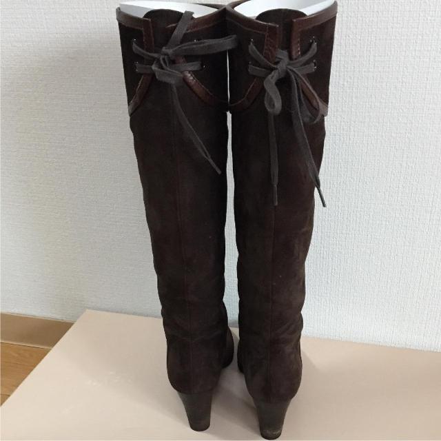 Odette e Odile(オデットエオディール)のスエード★ロングブーツ!!! レディースの靴/シューズ(ブーツ)の商品写真