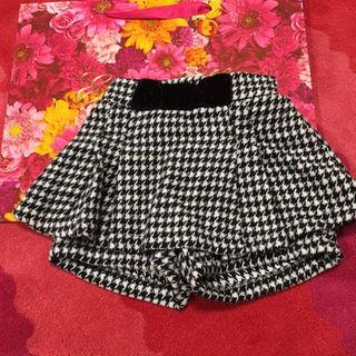 シマムラ(しまむら)の新品未使用♡80cm♡千鳥柄スカート(スカート)