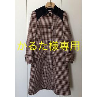 ミュウミュウ(miumiu)のMIUMIU コート 美品 (ピーコート)