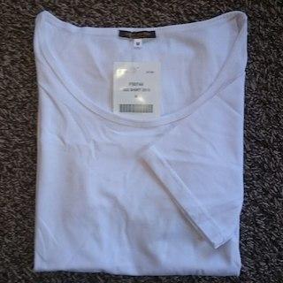 ルイヴィトン(LOUIS VUITTON)の新品正規品《ルイヴィトン》半袖無地白Tシャツ(その他)